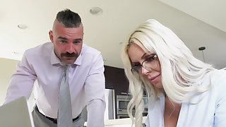 Appealing MILF thinks about the man's cock and wants upon fuck