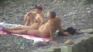 Groping On The Seaside