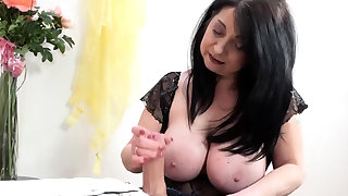 Chunky Boob grany handjobs Chunky Unearth with an increment of Rotty Fucks